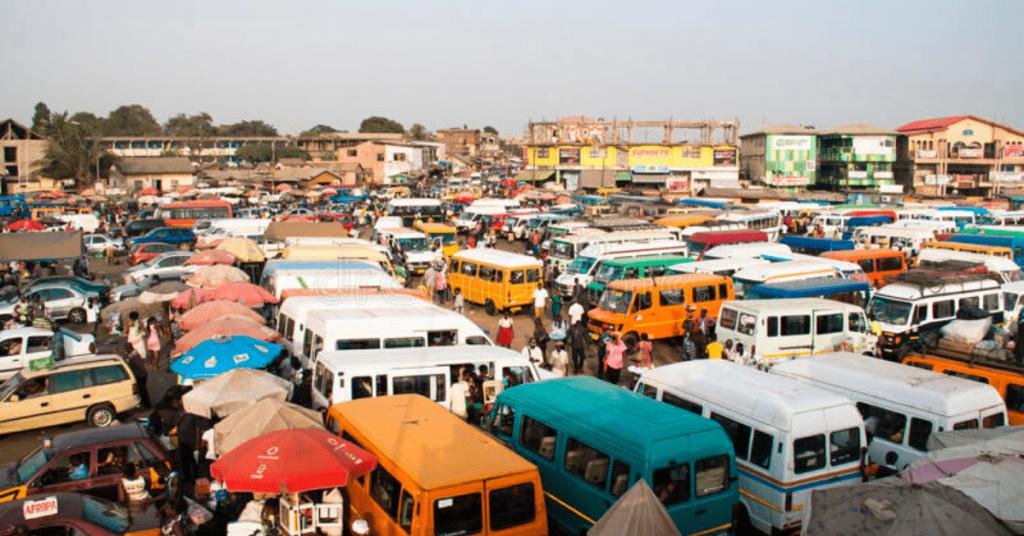 trotro in Ghana