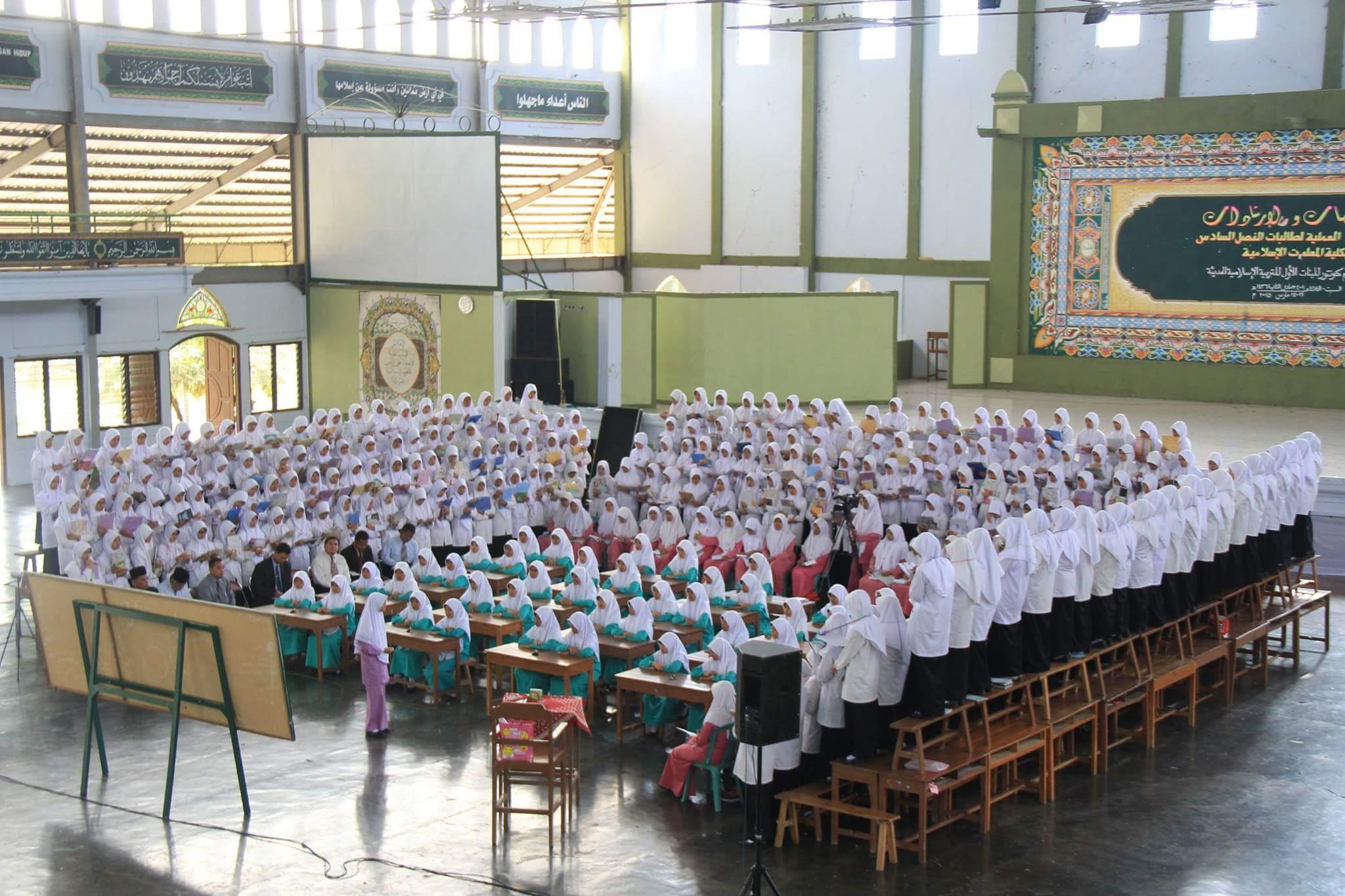 Foto Tarbiyah Amaliyah Gontor Putri