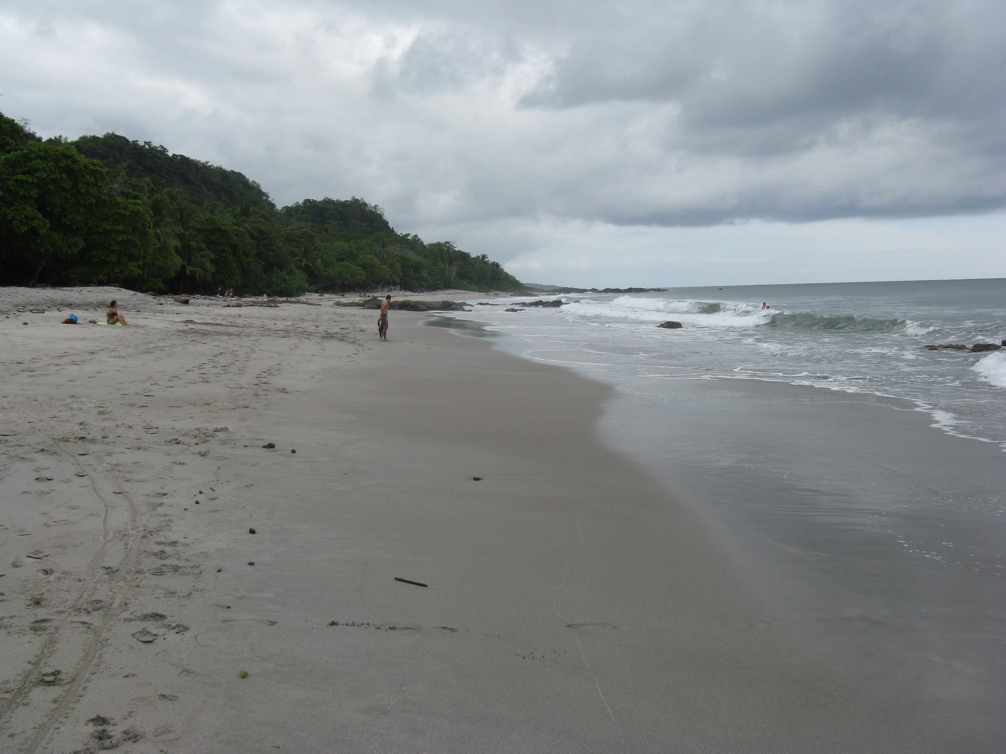 Montezuma beach, looking northeast