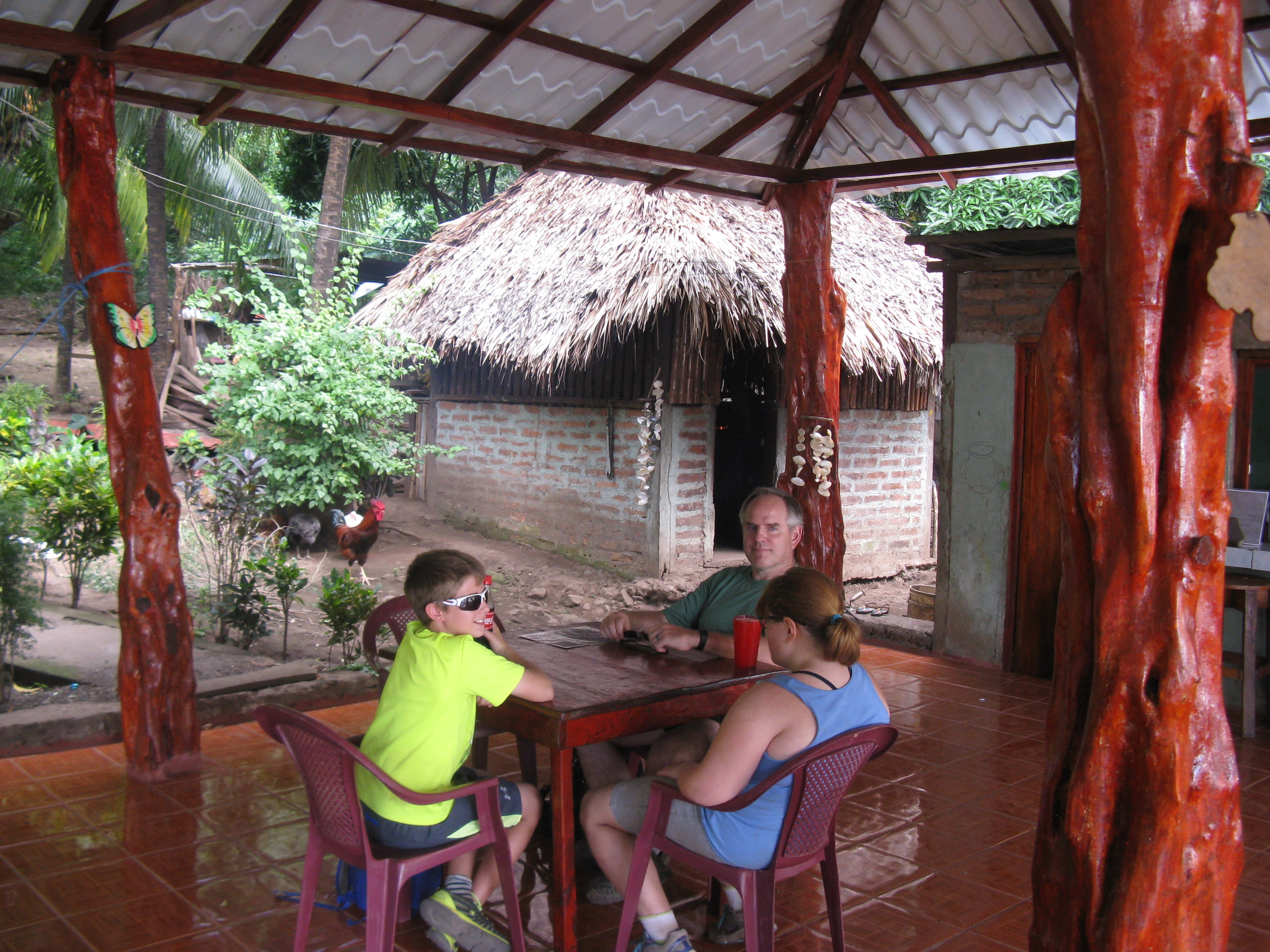 At Comedor, a typical Ometepe restaurant