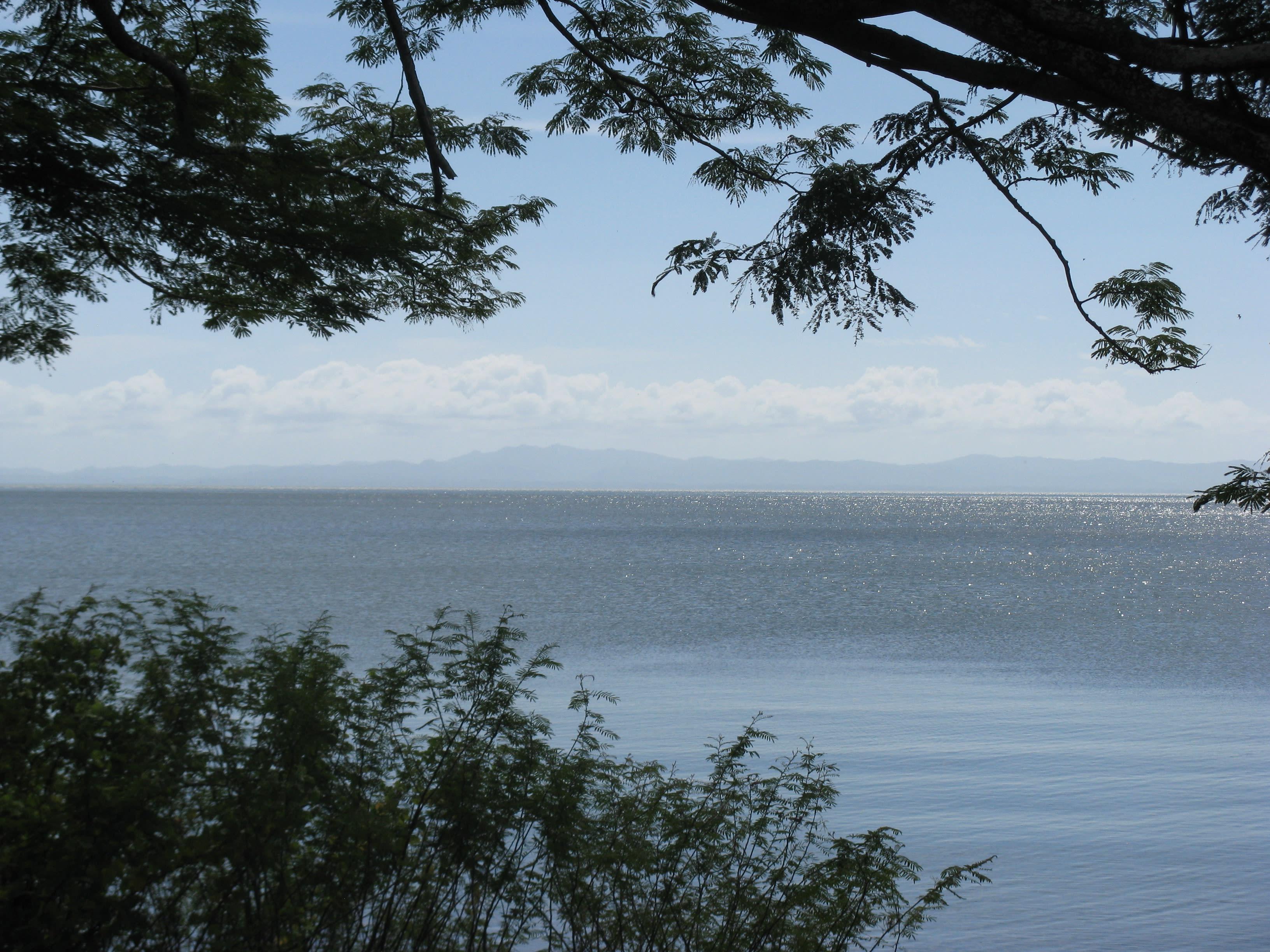 Looking west across Lake Nicaragua