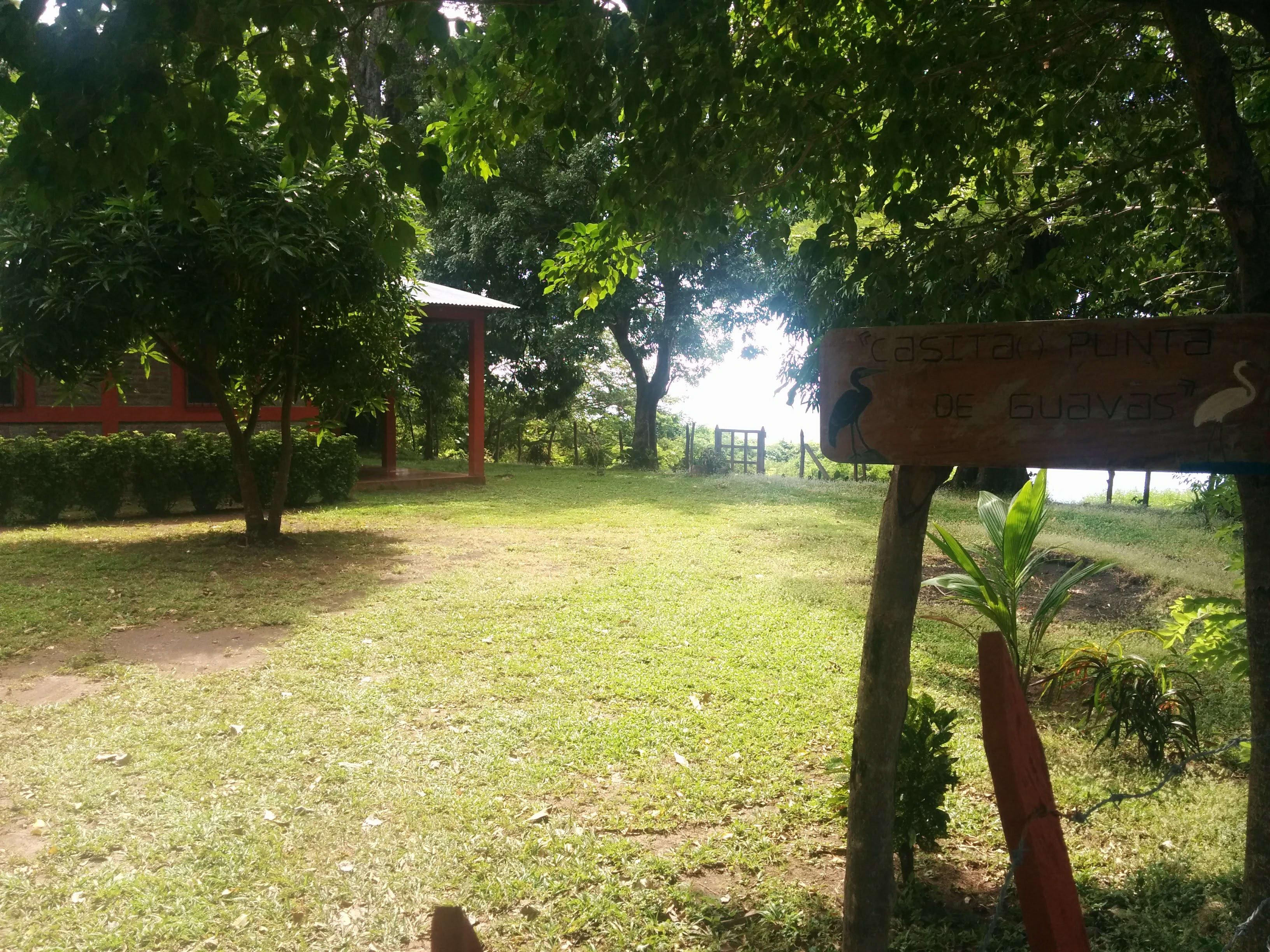 Casita and lake beyond