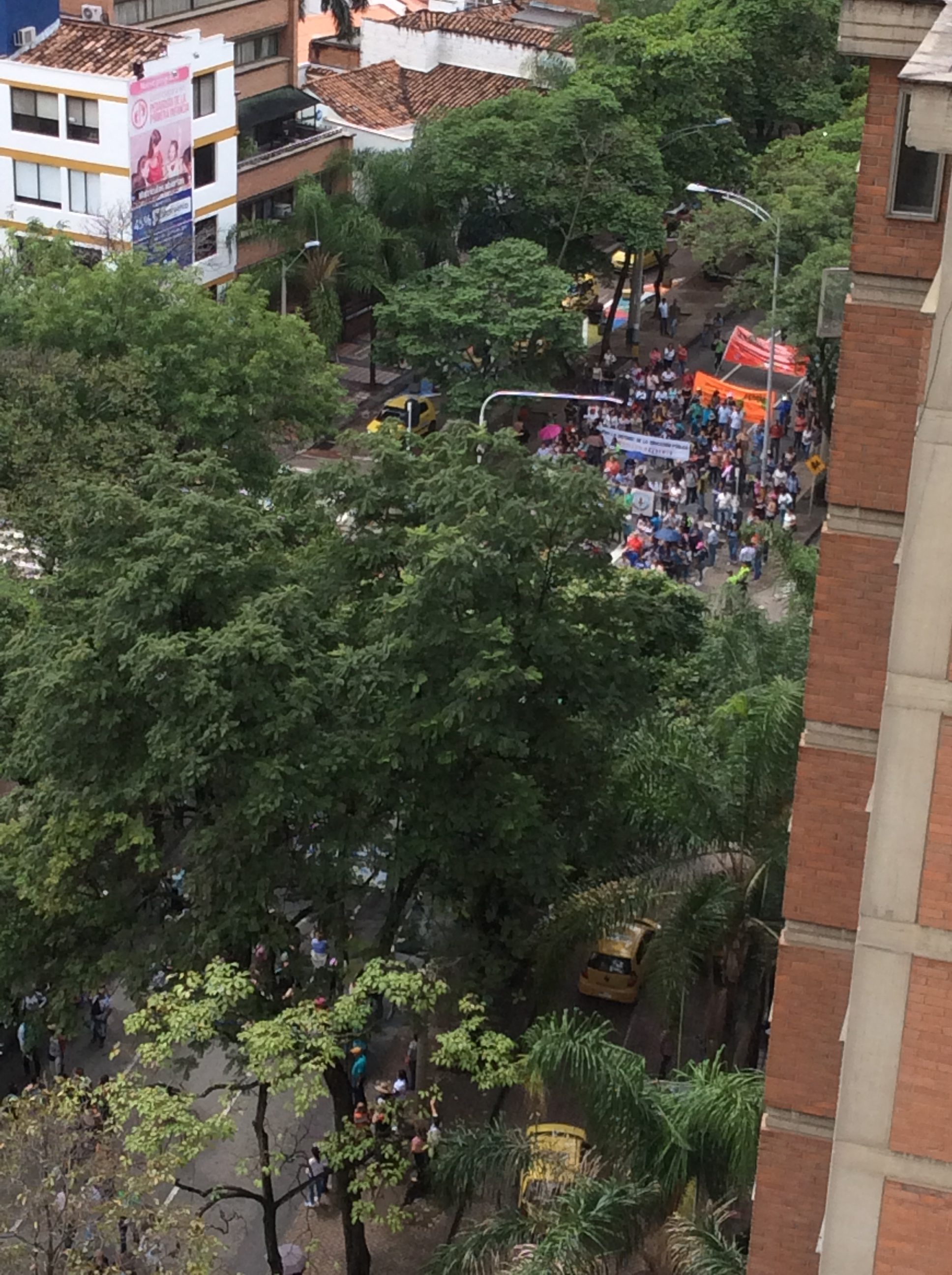 The Noisy Protest