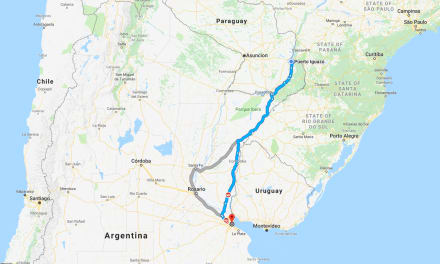 March 3 – 4: Via Bariloche Bus from Buenos Aires to Puerto Iguazu