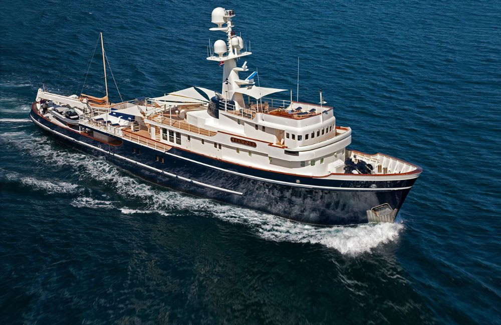 Yacht d'exploration SEAWOLF