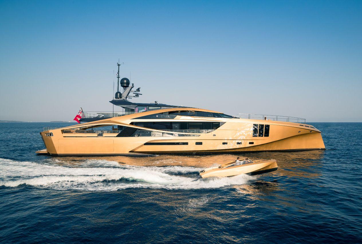 Khalilah Yacht Charter 49m Palmer Johnson Superyachtsmonaco