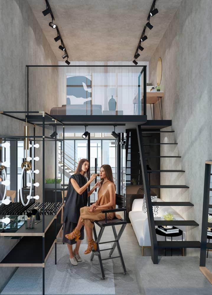Bloq Soho Lofts Makeup Artist Loft