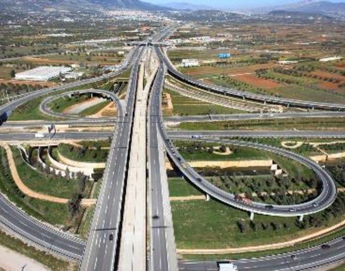 Airport Interchange Road Network