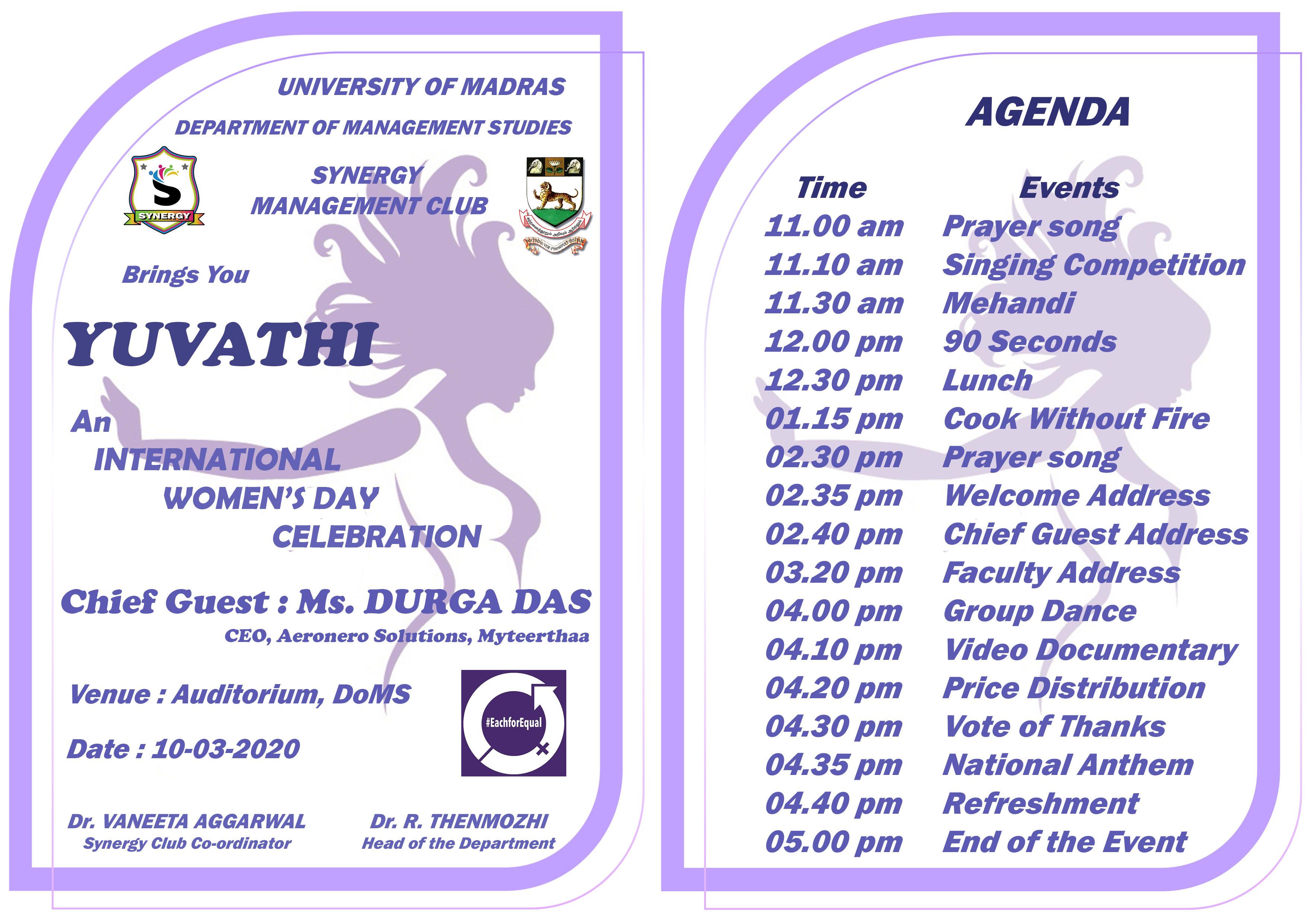 Womens Day Invite