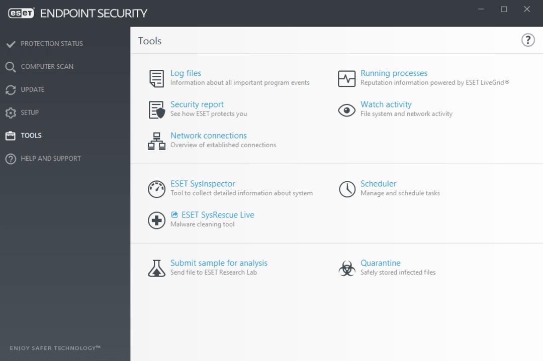 ESET Tools screenshot