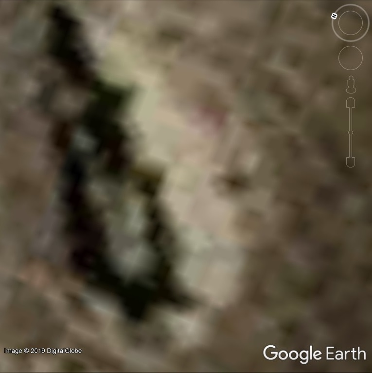 Pareidolia in Google Earth and on Toasts | Google Earth