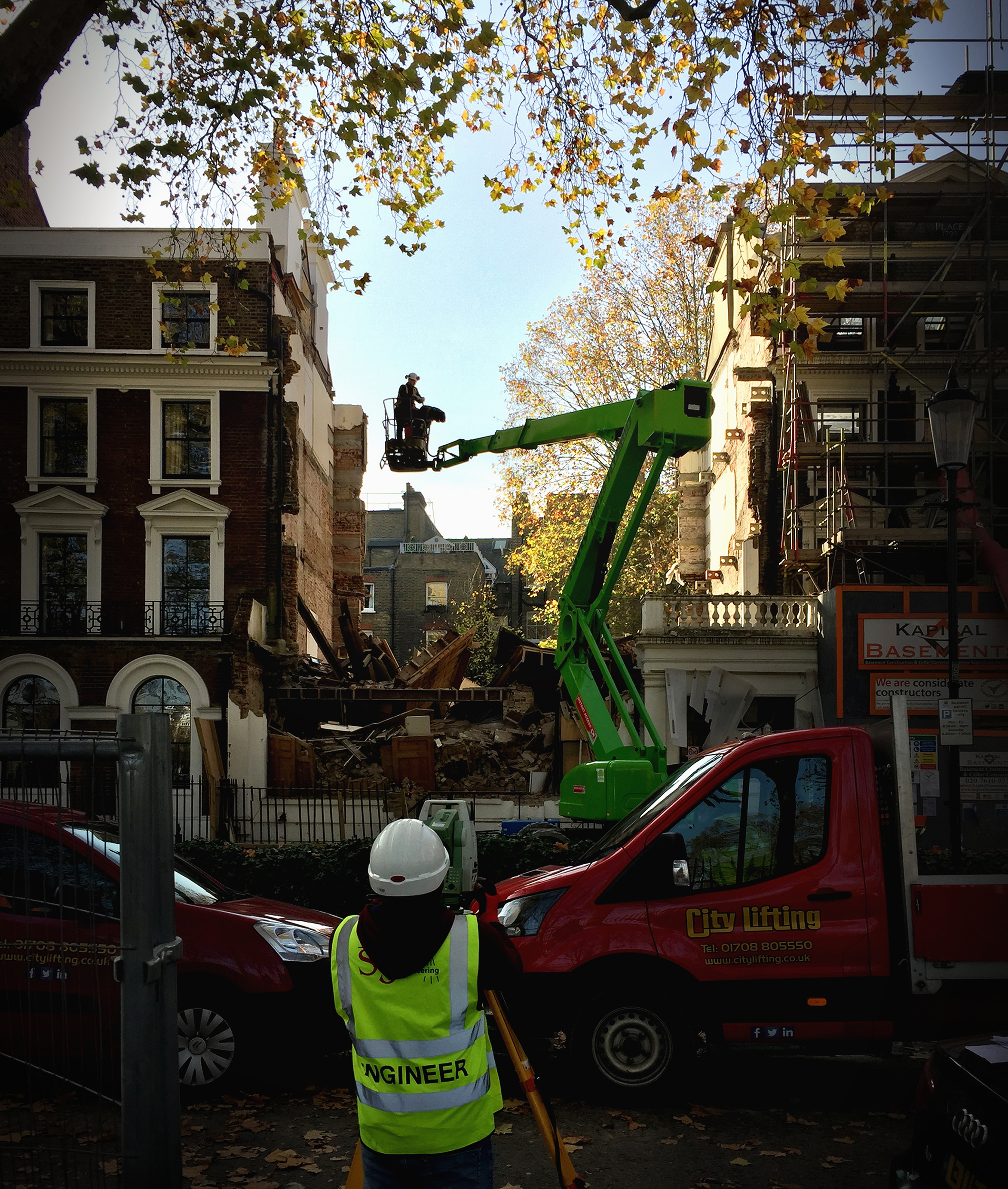 Durham Place House Collapse Chelsea London