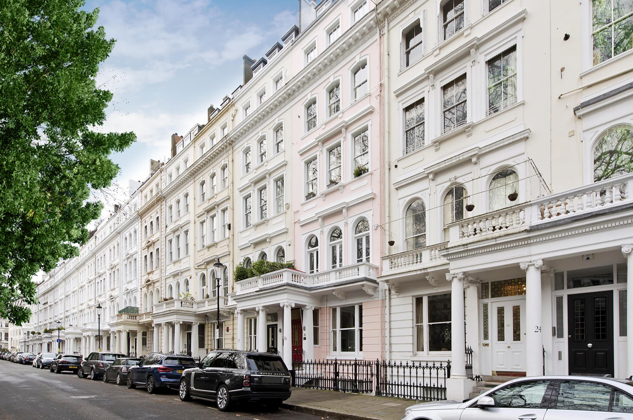 T&V Architects-Cornwall Garden-Street view-refurbishment-London