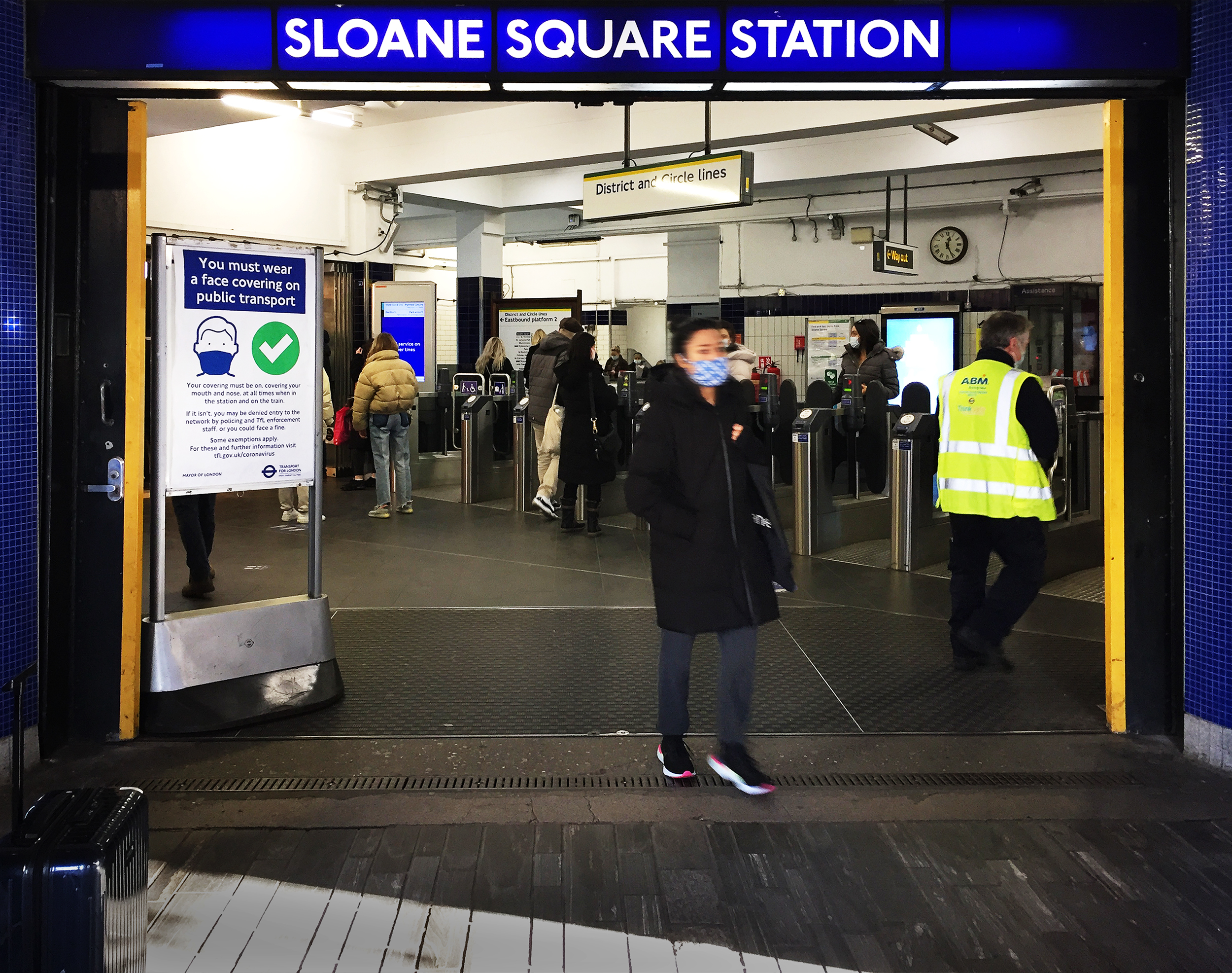 Sloane Square Station Chelsea London