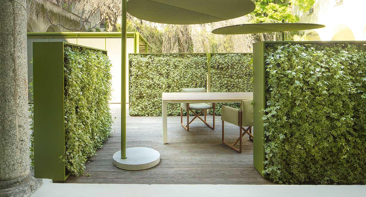 Vertical garden 'Greenery' by Paola Lenti