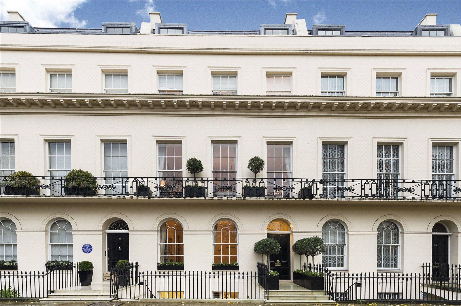 T&V_Architects_Regent's Park House Front Facade London