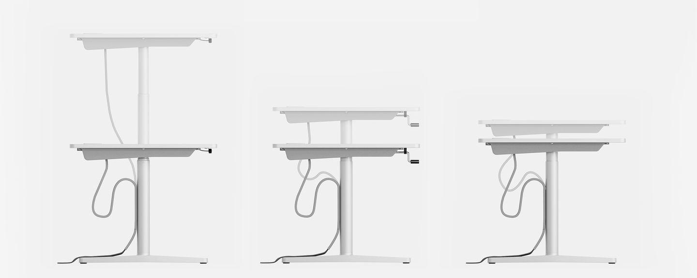Tyde desk by Vitra