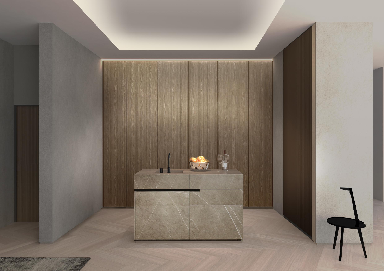 Luxury kitchen in London
