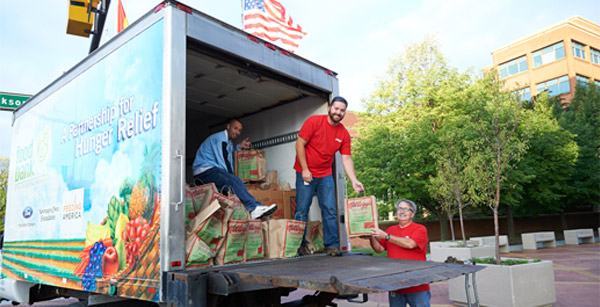 Kellogg Donates Food and Funds