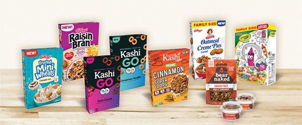 New Cereals and Granolas
