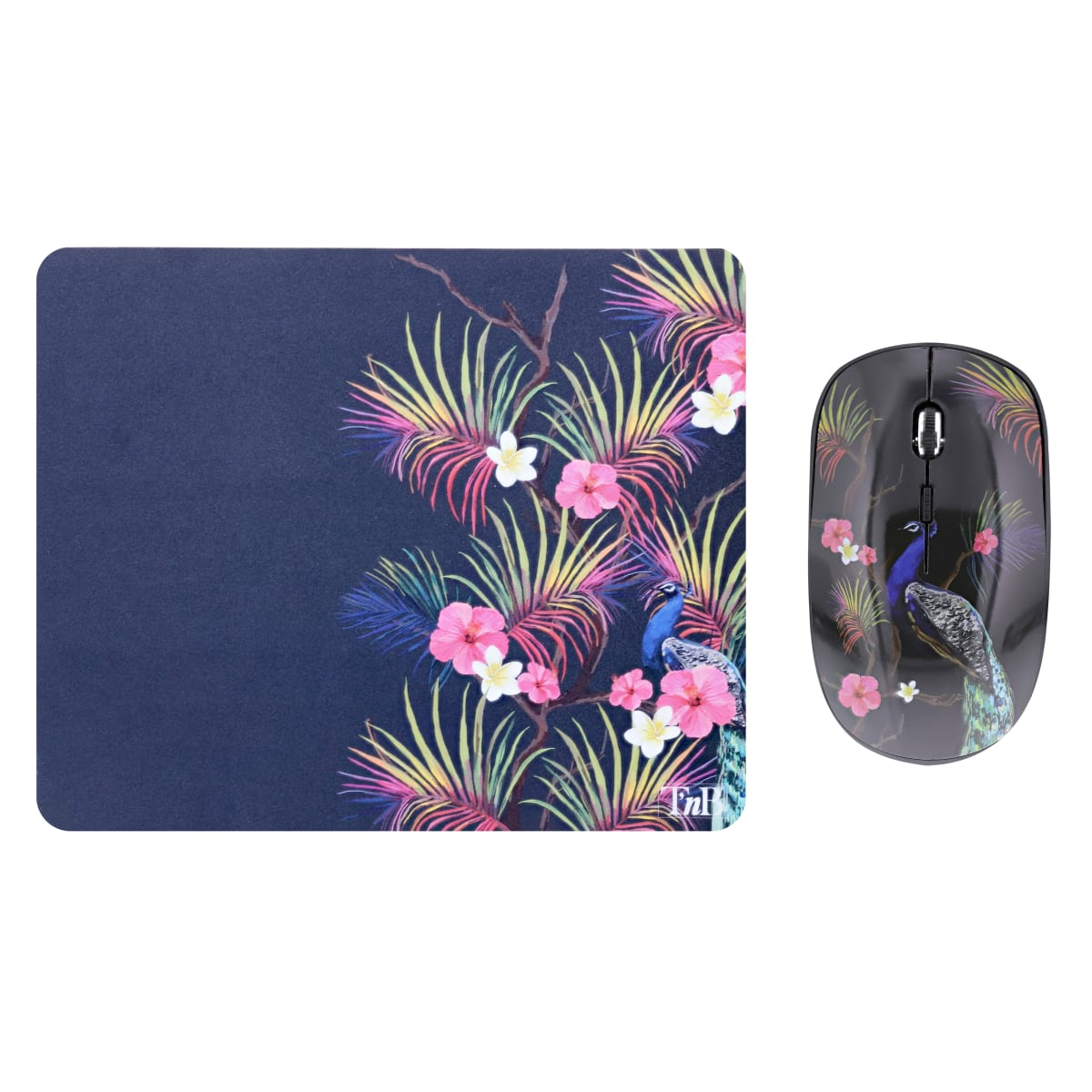 Bundle mouse pad and wireless mouse COPACABANA EXCLUSIV