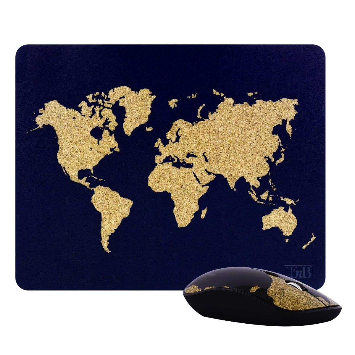 Bundle tapis de souris et souris sans fil TRAVEL EXCLUSIV