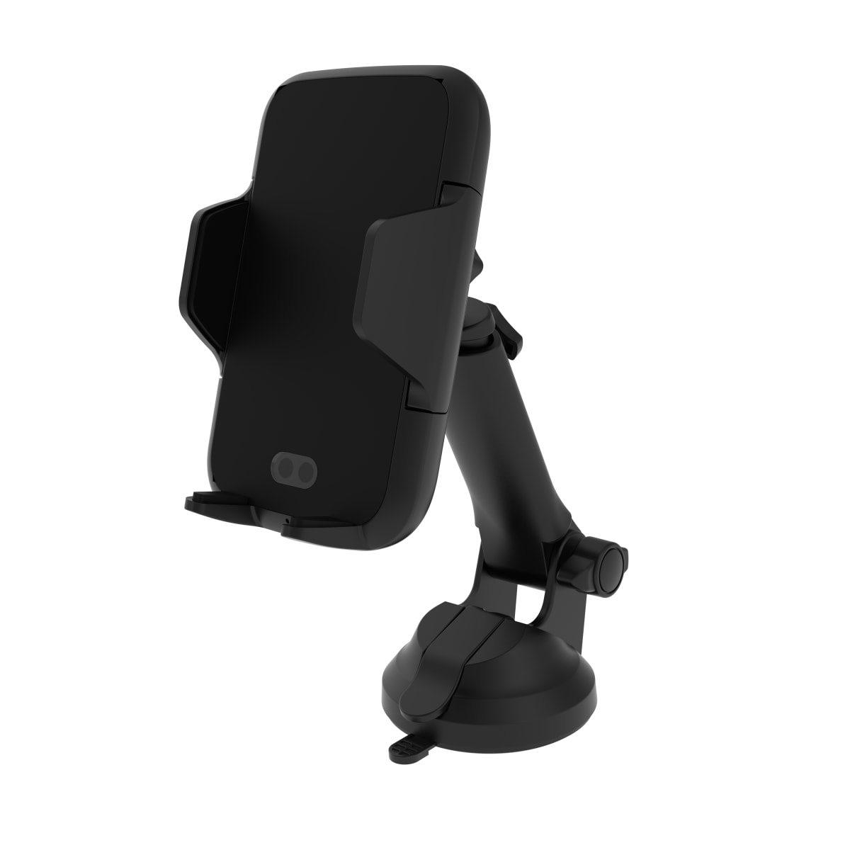 Motorised suction cup and air-vent grid jaw holder