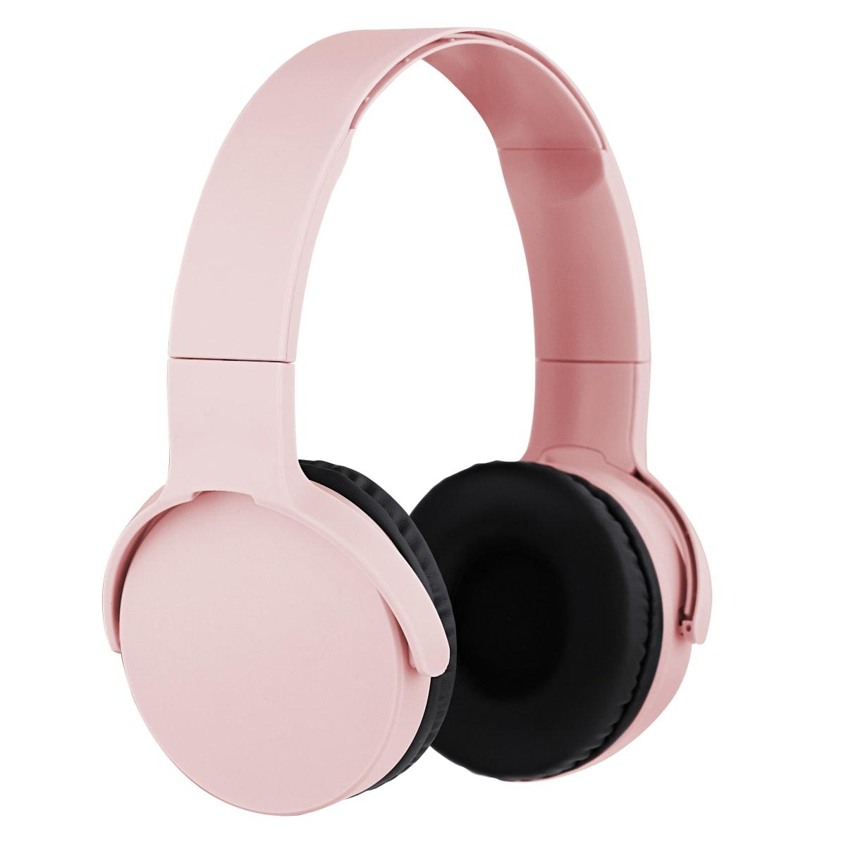SINGLE Bluetooth headphone gold pink