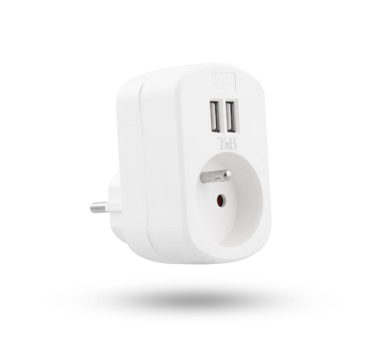 2 IN 1 USB AC CHARGER 2.4A