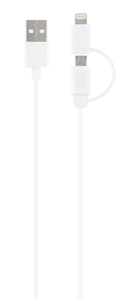 2 in 1 Lightning cable