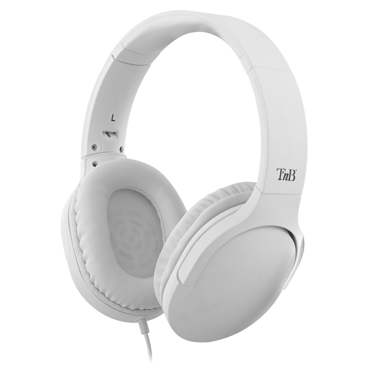 Casque filaire C SOUND jack 3,5mm / USB Type-C blanc