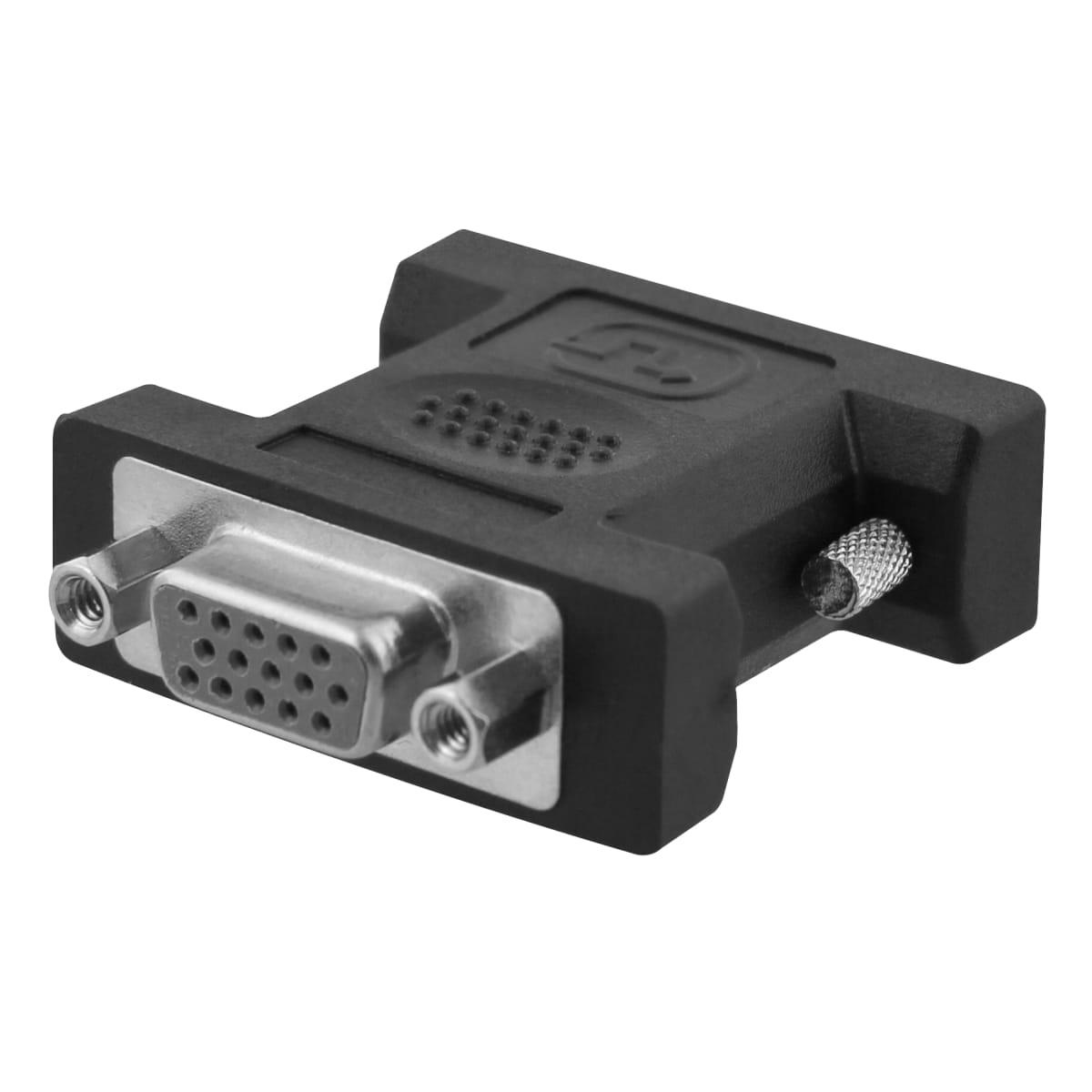 Male DVI / female VGA adapter