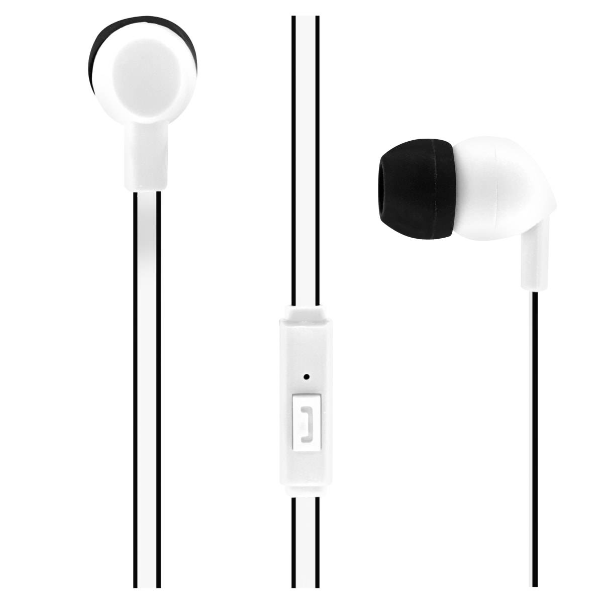 Wired earphones BE COLOR jack white