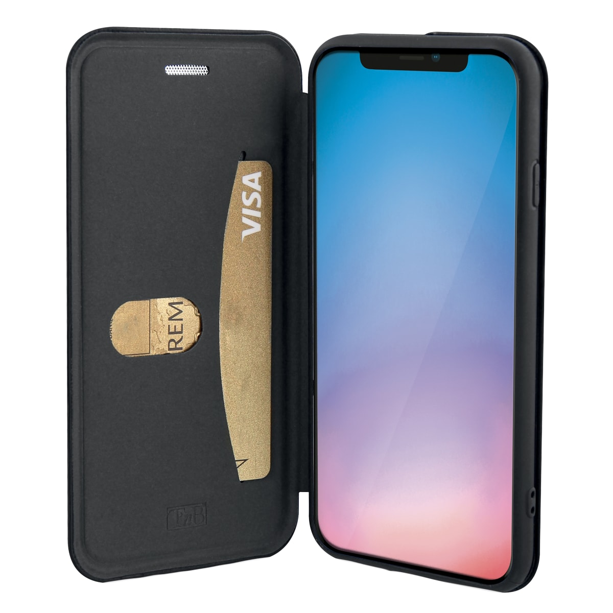 Premium folio case for iPhone 11 Pro Max.