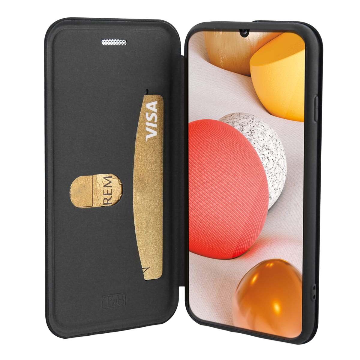 Premium folio case for Samsung Galaxy A42.