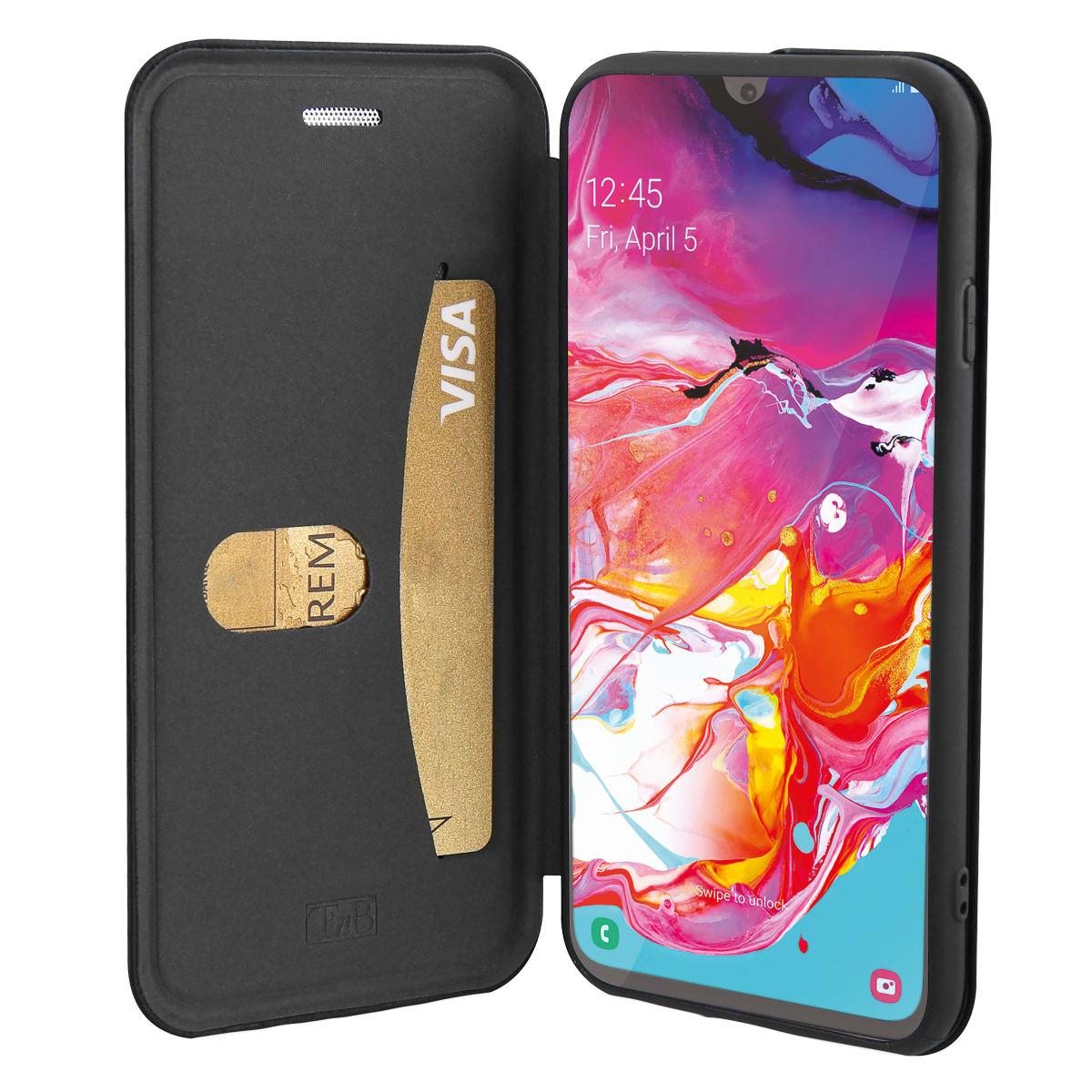 Premium folio case for Samsung Galaxy A70.