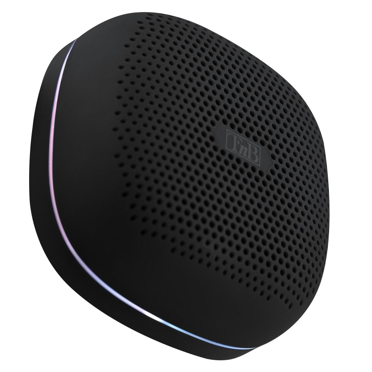 Wireless speaker RECORD II LED black