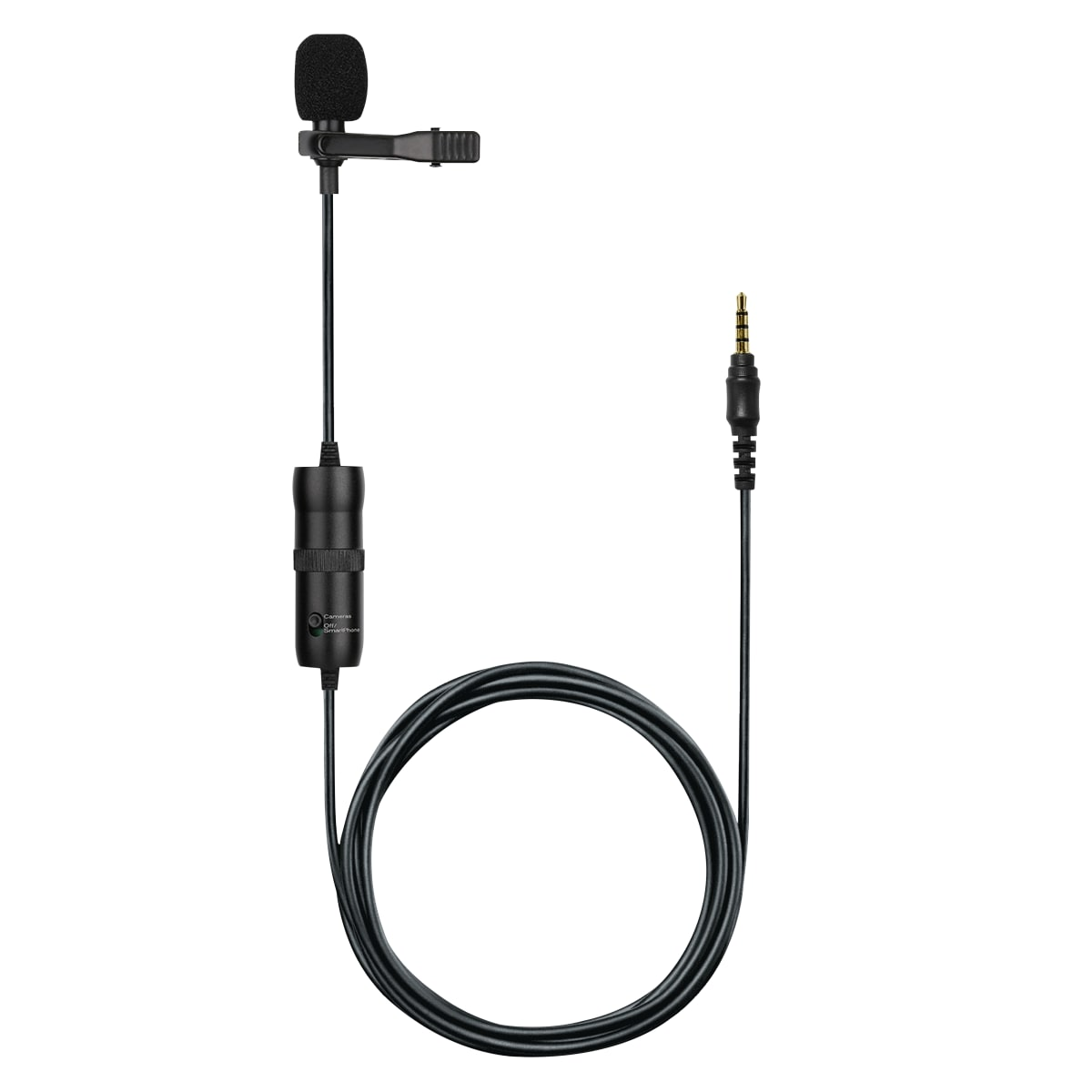 Omnidirectionnal jack lapel microphone  -  INFLUENCE