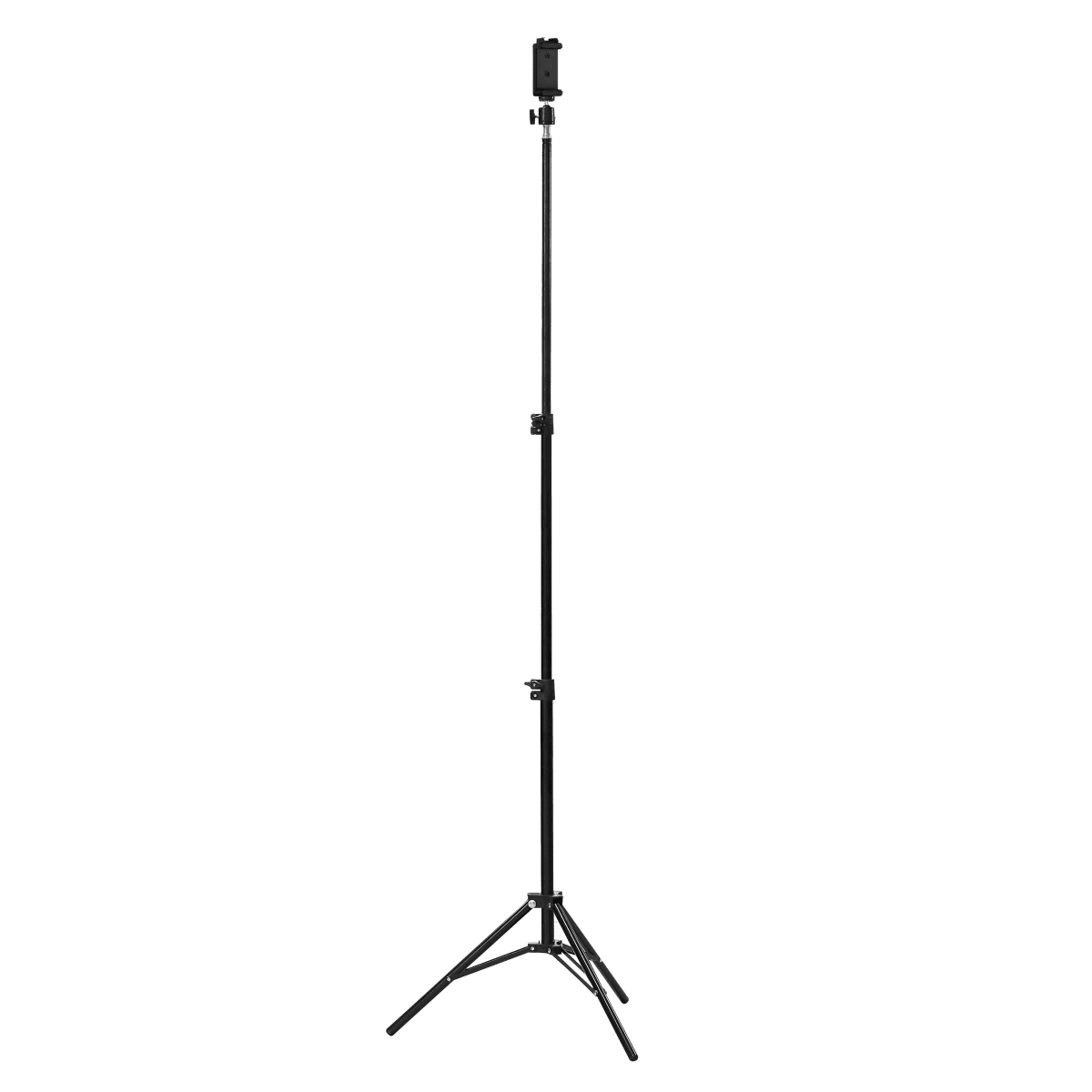 Telescopic tripod with smartphone holder - INFLUENCE