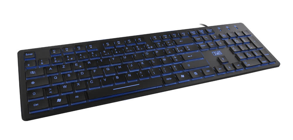 E-Luminous - backlit wired keyboard