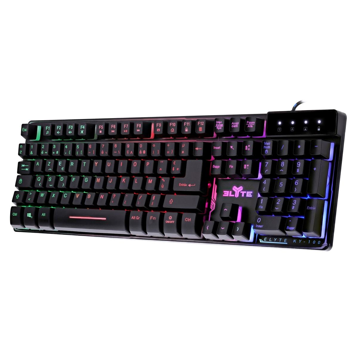 KY-100 semi-mechanical gaming keyboard