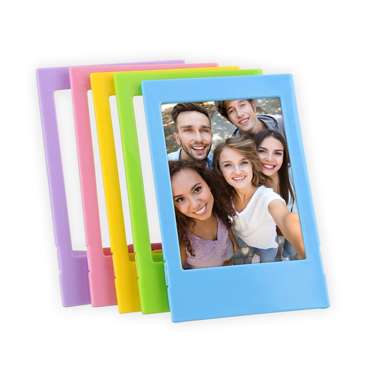 5 Mini format photo plastic frame