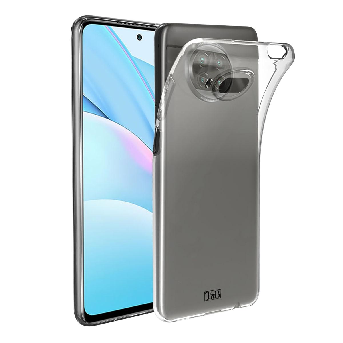 Transparent soft case for Xiaomi MI 10T Lite.