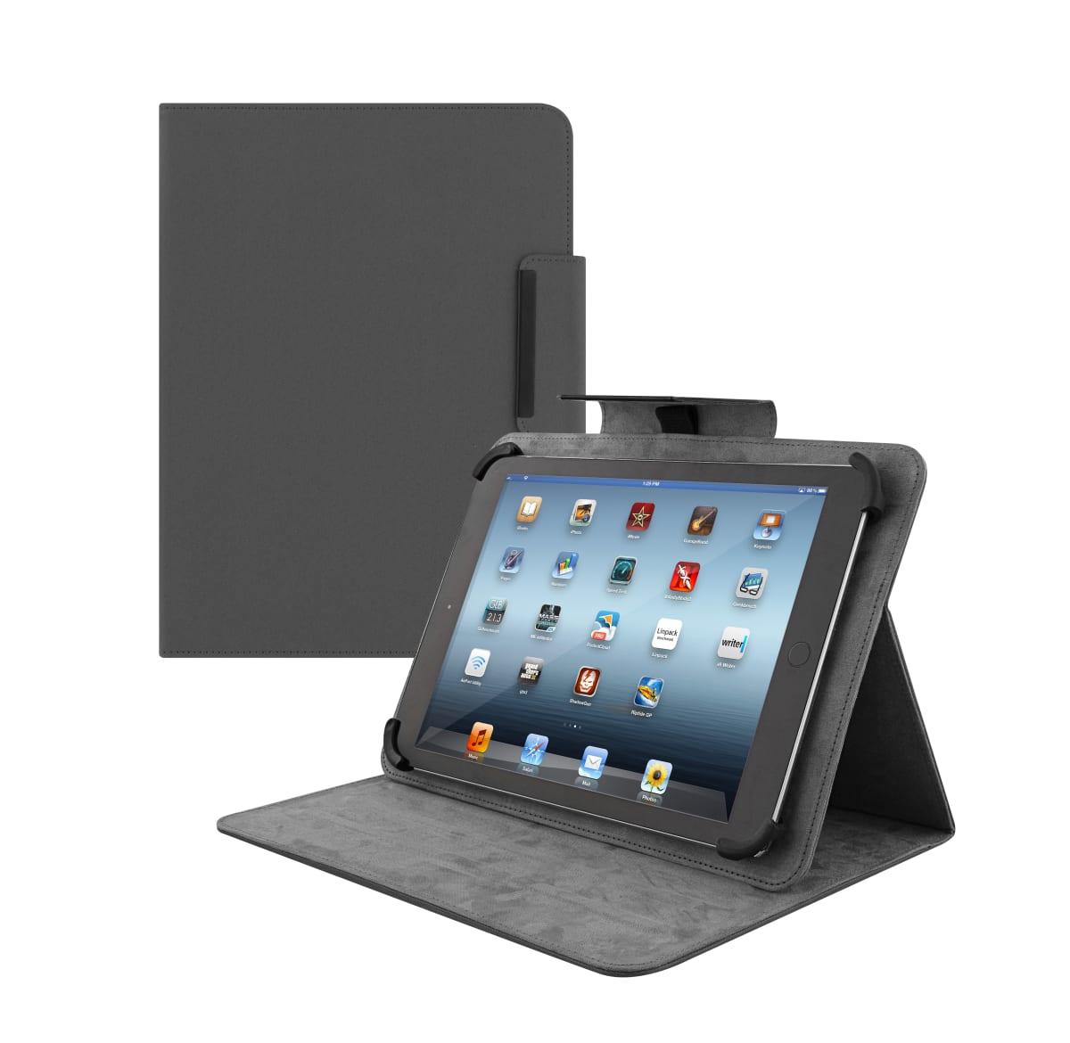 "Universal folio case for tablet 7"" REGULAR black"