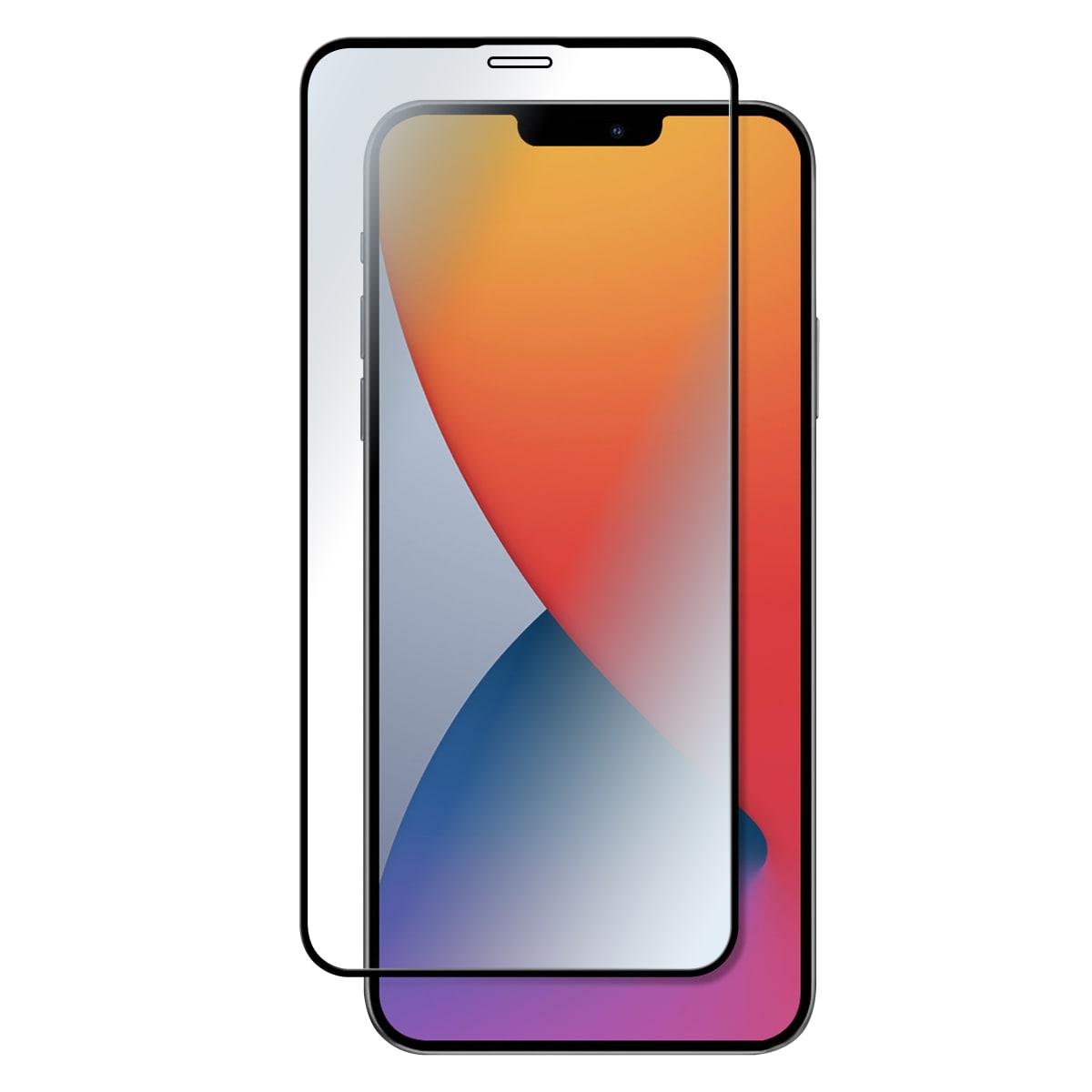 Protection intégrale en verre trempé pour iPhone 12 Mini.