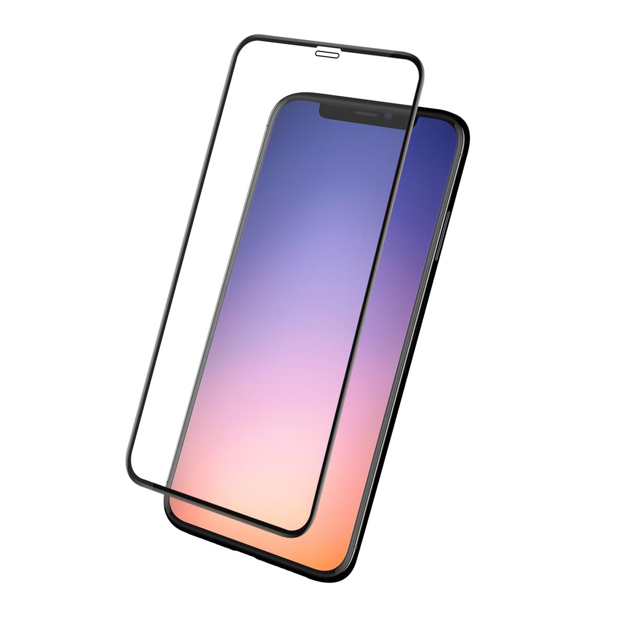 Protection intégrale en verre trempé pour iPhone 11 Pro.