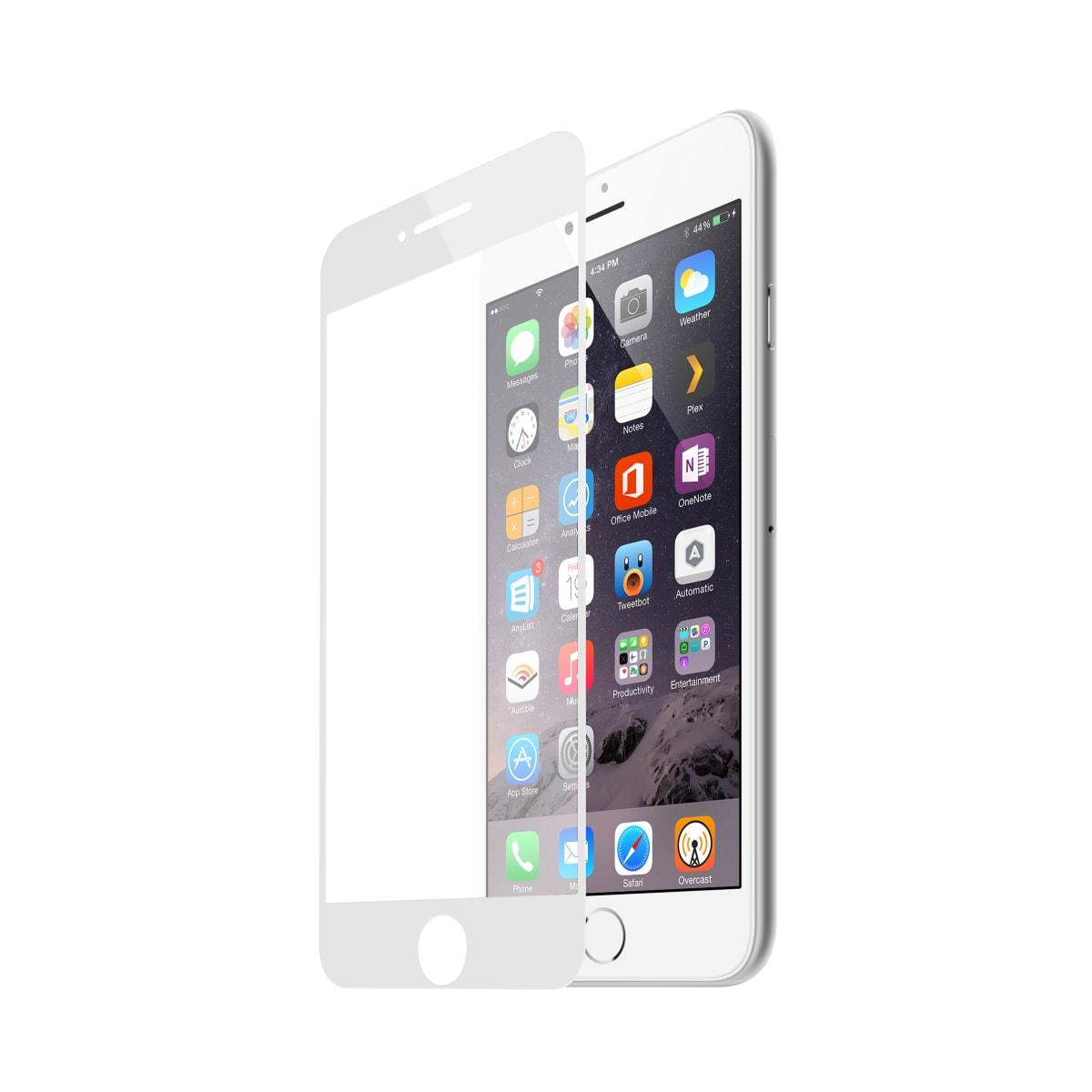 Protection intégrale en verre trempé pour iPhone 7-8.