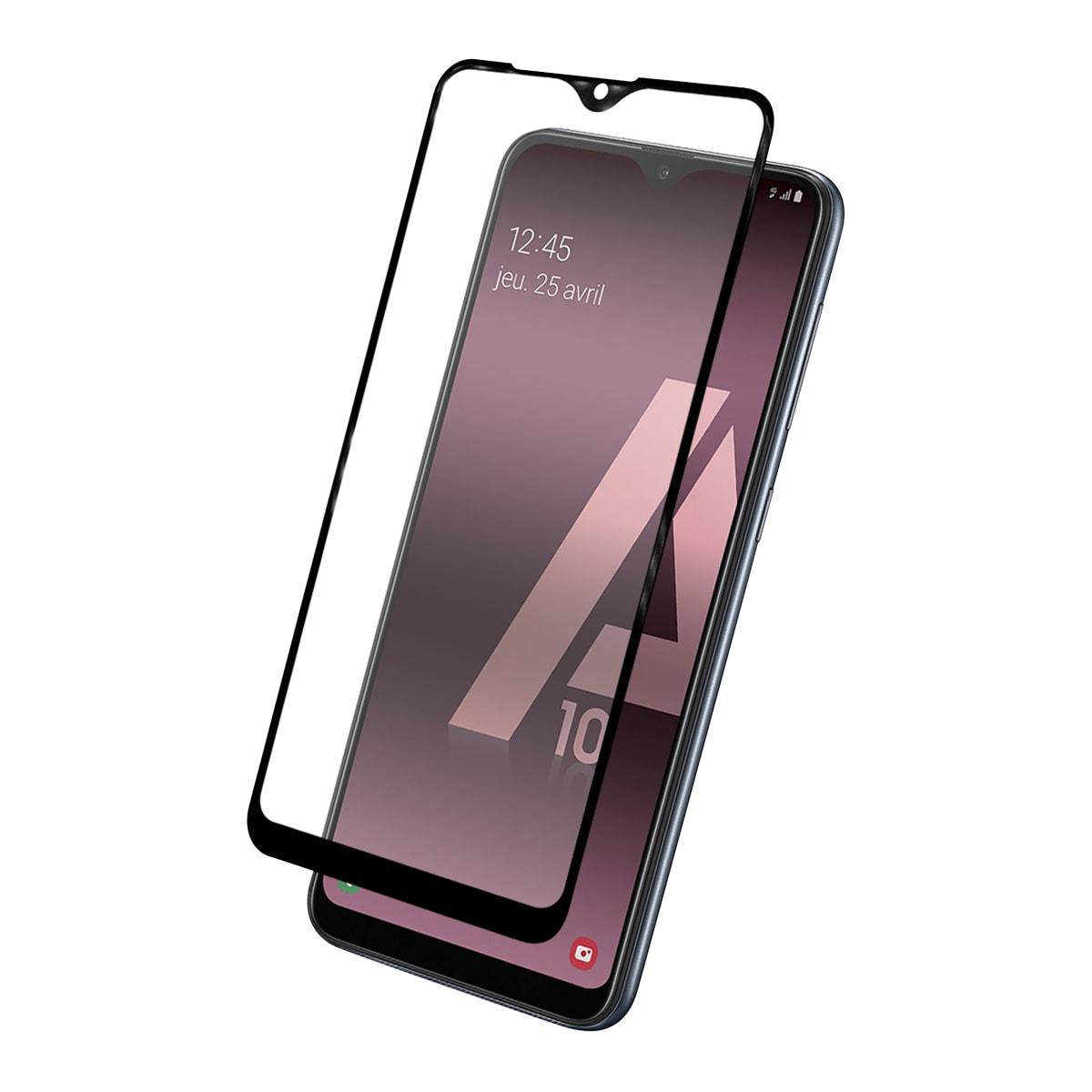 Protection intégrale en verre trempé pour Samsung Galaxy A10