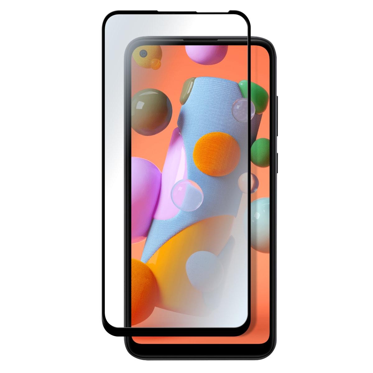 Protection intégrale en verre trempé pour Samsung Galaxy A11