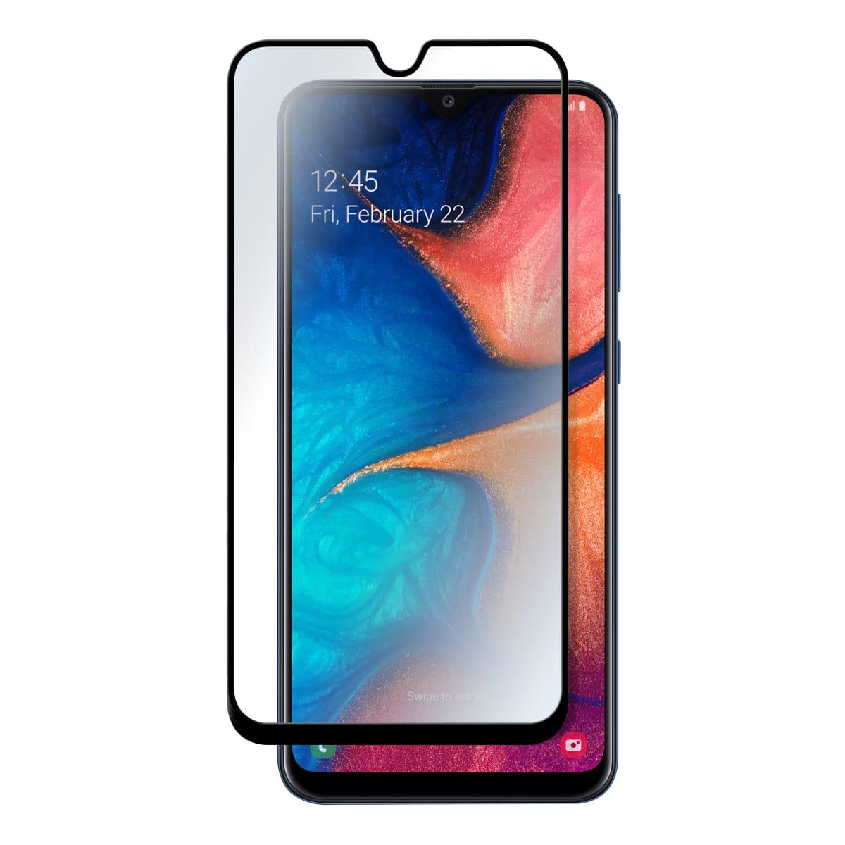 Protection intégrale en verre trempé pour Samsung Galaxy A20E